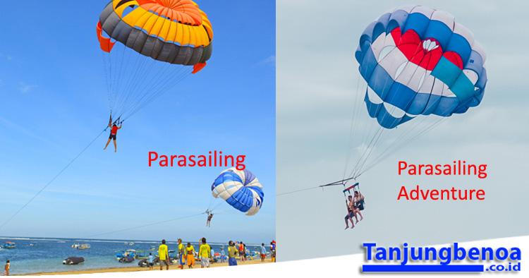 Parasailing Tanjung Benoa